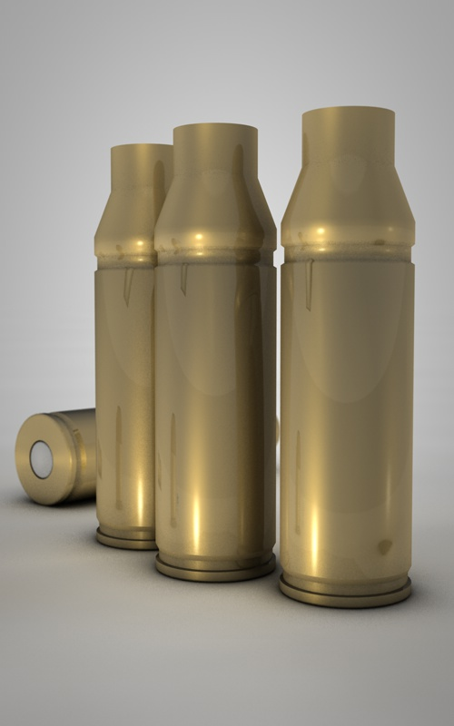 exterior coating for ammunition
